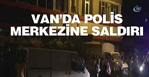 Van'da polis merkezine bombalı saldırı