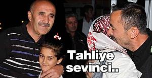 Yozgat'ta cezaevinden tahliye Sevinci