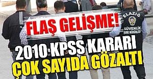 2010 KPPS operasyonu: Çok Sayıda Gözaltı