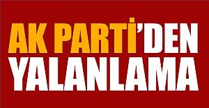 """AK Parti  """"Tüm Etkinlikleri Yasaklandı"""" Yalanı"""