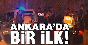 Ankara'da 8 bin 500 polisle operasyon