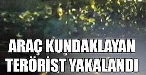 Avcılar'da Araç Kundaklayan Terörist Yakalandı