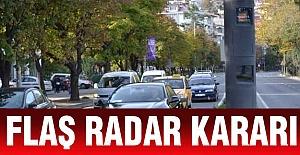 Bakanlıktan Flaş Radar Kararı
