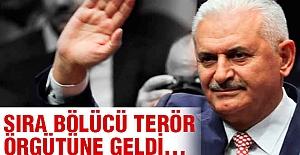 Başbakan: Sıra Bölücü Terör Örgütüne Geldi