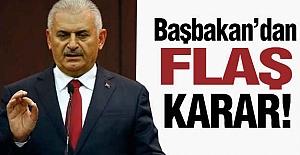 Başbakan Yıldırım, Erzurum'a Gidiyor