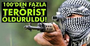Çukurca'da 100'den fazla terörist Öldürüldü