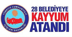Kayyum Atanan Belediyeler