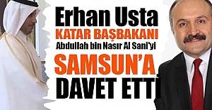 MHP'li Usta, Katar Başbakanını Samsun'a Getirecek
