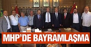 MHP Samsun İl Teşkilatı Bayramlaştı