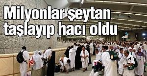 Milyonlarca Müslüman Şeytan Taşladı
