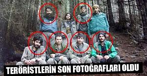 Ordu'da Öldürülen Teröristlerin Son Fotoğrafları