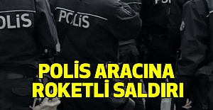 Polis Aracına Roketli Saldırı