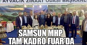 Samsun MHP Tarım Fuarında