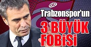 Trabzonspor'un 3 büyük fobisi