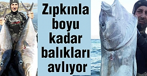Boyu Kadar Balık Avlayan Adam!