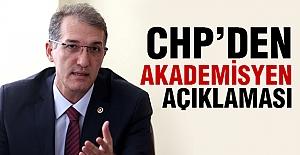 CHP'den Akademisyen Açıklaması