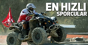 İşte En Hızlı Sporcular...