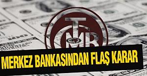 Merkez Bankası'ndan 'aş Karar
