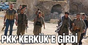 PKK Kerkük'e Girdi