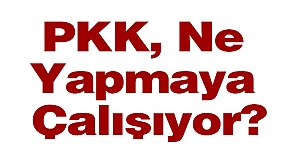 PKK, Ne Yapmaya Çalışıyor?