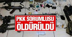 PKK Sorumlusu Öldürüldü