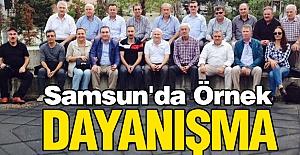Samsun'da Müdürler Dayanışması