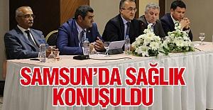 Samsun'da Sağlık Sorunları Konuşuldu