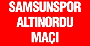 Samsunspor Altınordu Maçı