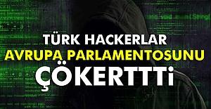Türk hackerlar Avrupa Parlamentosuna Saldırdı