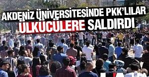 Üniversitede PKK provokasyonu!