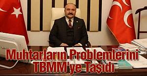 Erhan Usta, Muhtarların Problemlerini TBMM'ye Taşıdı