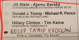 ABD'den Erdoğan'a Oy Çıktı