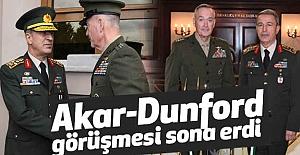 Akar-Dunford görüşmesi...