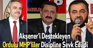 Akşener'i Destekleyen Ordulu MHP'liler Disipline Sevk Edildi