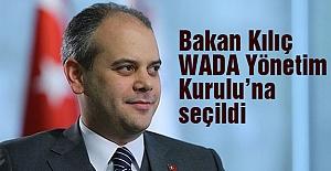 Bakan Kılıç, WADA Yönetim Kurulu'nda