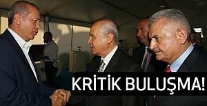 Beştepe'de, Erdoğan ve Bahçeli Buluşması