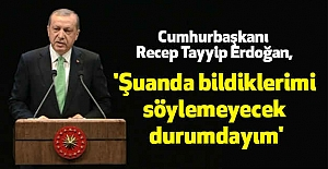 Cumhurbaşkanı Erdoğan; At İzi İt İzine Karışmasın İstiyoruz