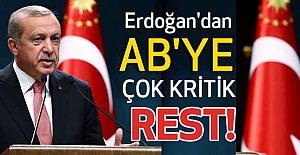 Cumhurbaşkanı Erdoğan'dan Kritik Rest!