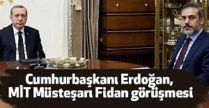 Cumhurbaşkanı Fidan'ı Kabul Etti