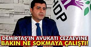 Demirtaş'ın Avukatı Cezaevi'ne girerken Ne Yakalattı?
