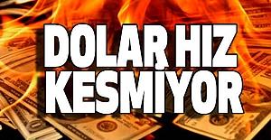 Dolar Hız Kesmiyor
