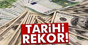Dolar ve euro'da  Tarihi Rekor!