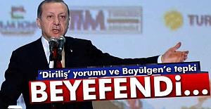 Erdoğan'dan Bayülgen'e Tepki