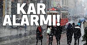 Kar Alarmı!