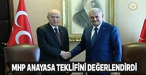 MHP,  Anayasa Teklifini Değerlendirdi