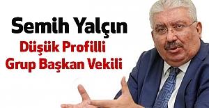 MHP'li Yalçın: Düşük Profilli Grup Başkan Vekili
