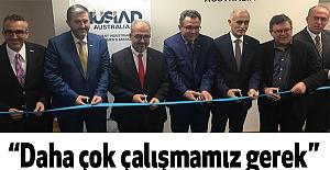 MÜSİAD Avustralya Melbourne'de şube açılışı gerçekleştirdi