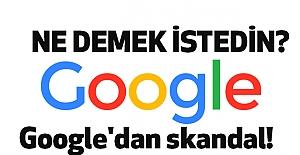 """""""Ne demek istedin Google?"""""""