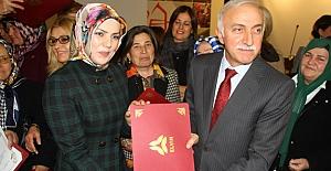 """Samsun'da """"Kadın Liderler Akademisi"""" Töreni"""