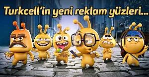 Turkcell'in yeni reklam yüzleri...